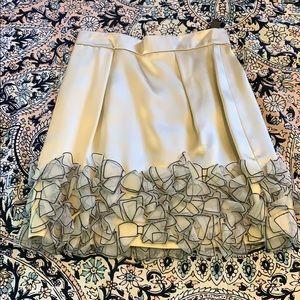 Dolce and Gabbana silk mini skirt
